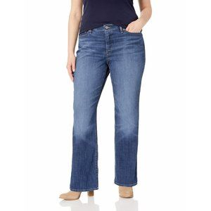 Levi's 415 Slimming Boot Cut Denim Jeans Dark Wash